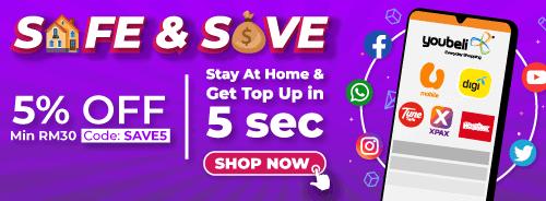 Topup Safe & Save
