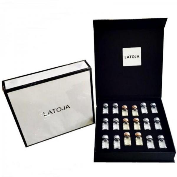 Latoja Hyaluronic Acid Rejuvenating Serum 2ml (6 Bottles Day Serum & 6 Bottles Night Serum)