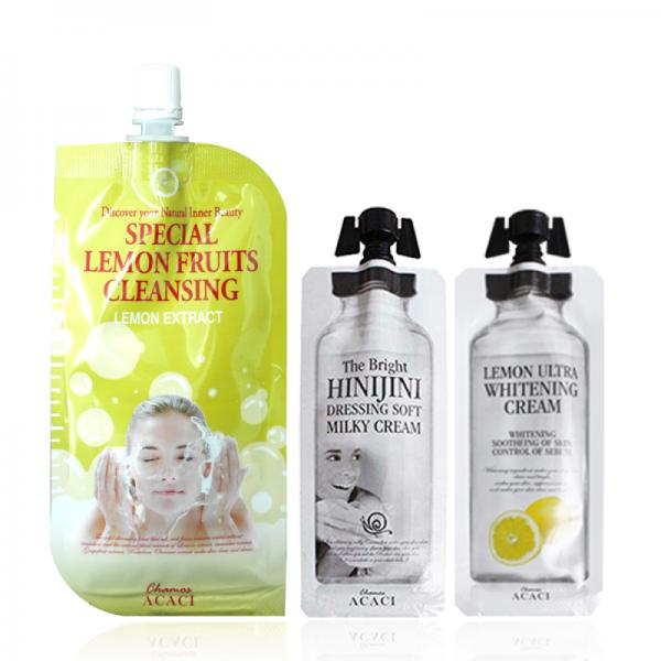 Korean Travel Skincare Set Triple Mini (Set B)