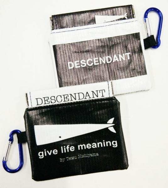 Decendants coin pouch