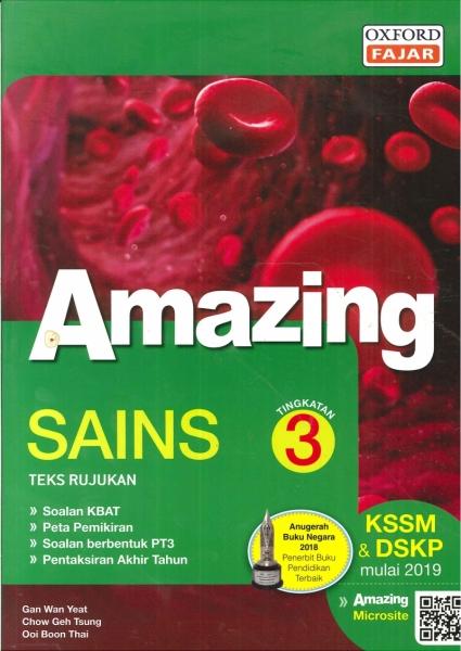 AMAZING SAINS TINGKATAN 3 KSSM