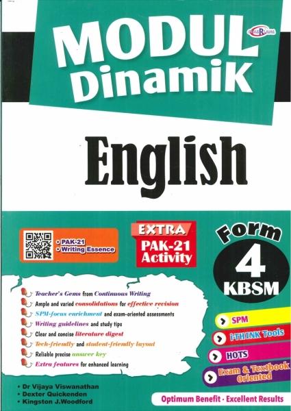 MODUL DINAMIK ENGLISH FORM 4 KBSM