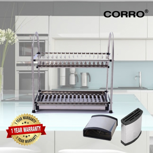 CORRO High Quality SUS304 Stainless Steel Dish Rack