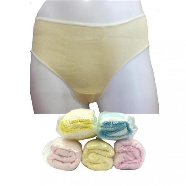 Qq Disposable Cotton Panties Woman L Size 5S X 2 Packs