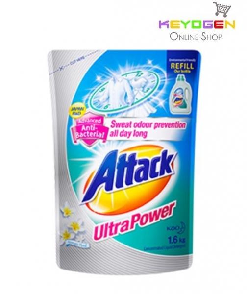 Attack Liquid Detergent Ultra Power Refill 1.6kg