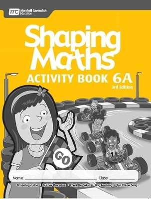 Shaping Maths Activity Book 6A (3rd Edition),ISBN 9789814741880