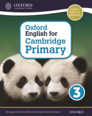 Oxford English for Cambridge Primary Student Book 3, ISBN 9780198366270