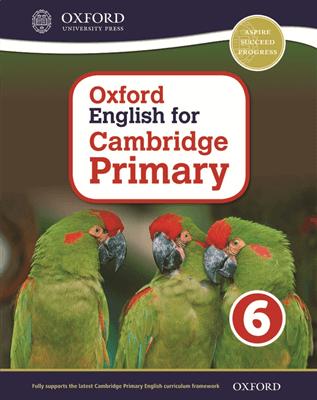 Oxford English for Cambridge Primary Student Book 6, ISBN 9780198366430