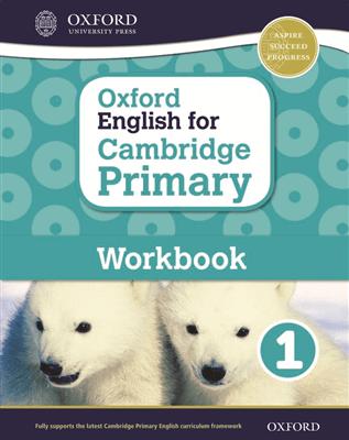 Oxford English for Cambridge Primary Workbook 1, ISBN 9780198366294