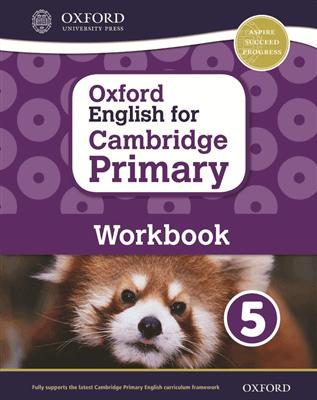 Oxford English for Cambridge Primary Workbook 5, ISBN 9780198366331