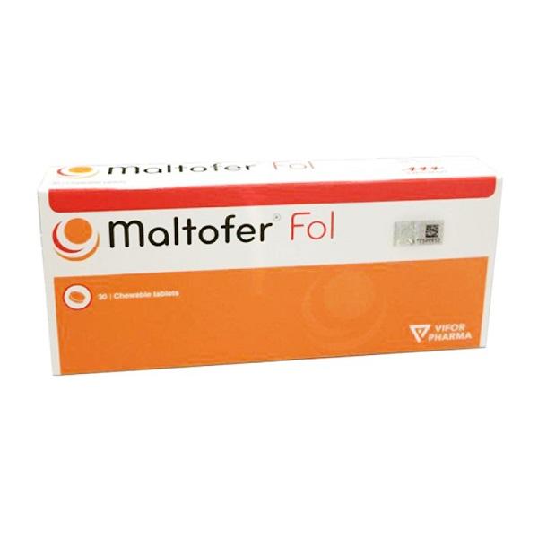 Maltofer FOL 30\'s Chewable Tablet Vitamin Iron Folic Acid