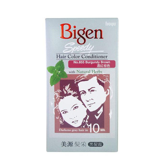 Bigen Speedy Hair Color Conditioner No 855 Burgundy Brown