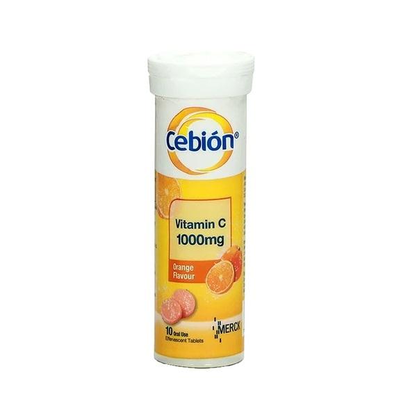 Cebion Vitamin C Effervescent Tablet 1000mg 10\'s