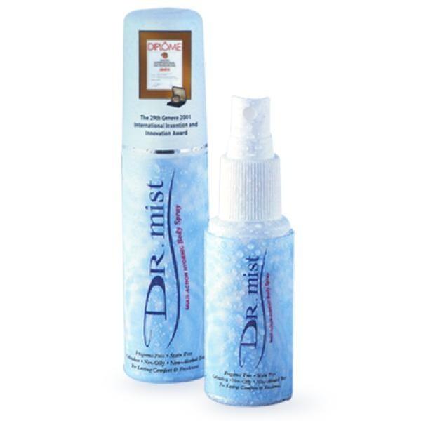 Dr Mist Deodorant Unscented Spray 75ml