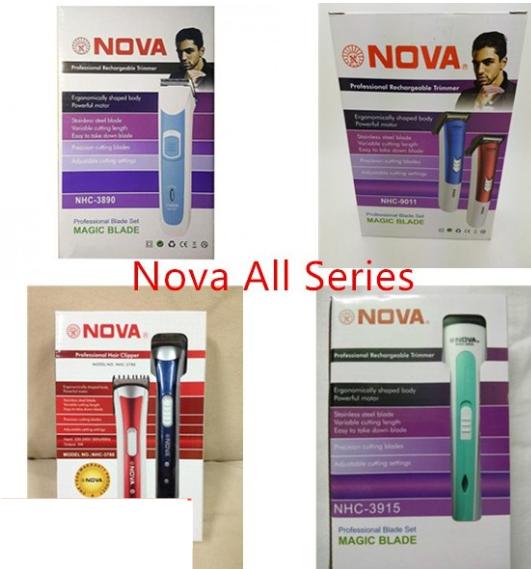 Nova Random All series 3890 3915 9011 3780 trimmer clipper Nova