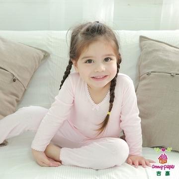 女童粉色舒暖棉長袖 90~150cm