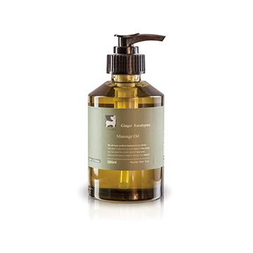 (Ginger) Ginger Eucalyptus massage oil _200ml