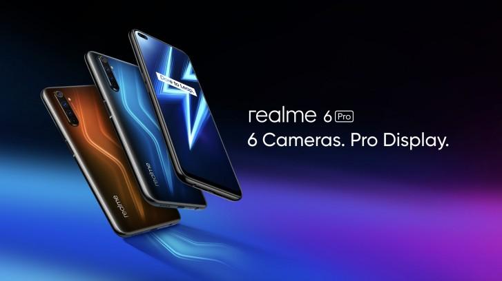REALME 6 PRO (4GB+64GB) 6.3 INCH SCREEN DISPLAY (IMPORT SET)