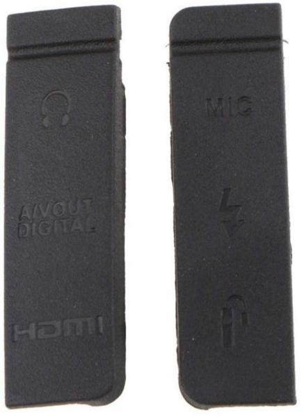 Canon EOS 5D Mark III USB HDMI Rubber Dust Door Cover Lid Cap