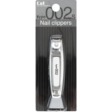 日本貝印不鏽鋼指甲刀(002/S/白) KE-0125