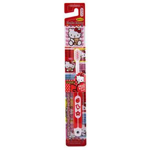 (EBISU)EBISU-Hello Kitty soft handle children's toothbrushes B-S741