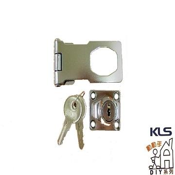 "[TAITRA] Door Lock - 2-1/2"""" (Chrome)"