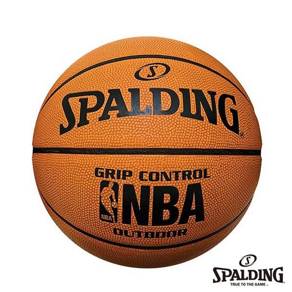 [TAITRA] SPALDING NBA Grip Control Professional Rubber Basketball No. 7 (Orange)