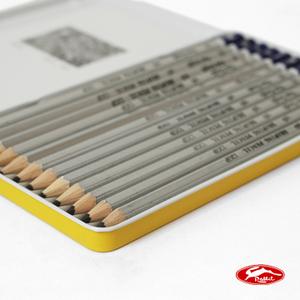 [TAITRA] Rabbit Van Gogh Drawing Pencil / 1 Box