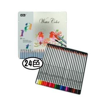 MONA 24 Color soluble colored pencil (tin)