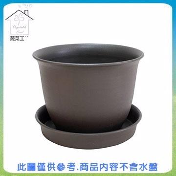 [TAITRA] 【Vegetable Farm】 Plastic Pots No.6 - Short Black