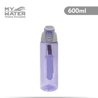 [TAITRA] MY WATER Elegant Sports Type Style Sports Type Water Bottle 600ml Purple