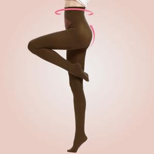 [TAITRA] 【Delgada】Magnetic stone skinny waist sculpting socks- Dark green