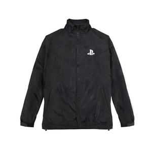 Extreme black windbreaker jacket