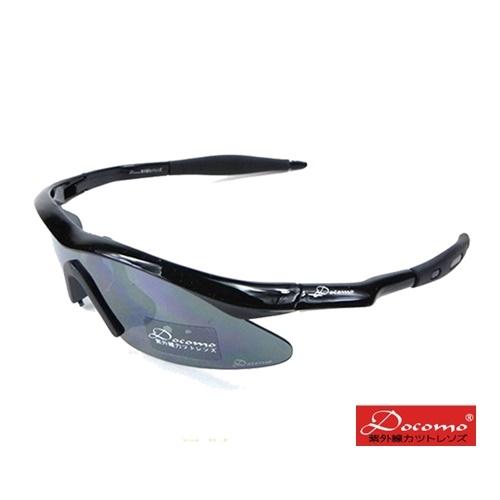 [Children] Docomo brand sports sunglasses UV uv400 comfortable elastic stand obedient