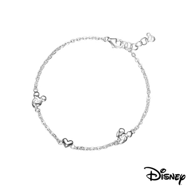 (Disney)Disney Disney Collection Silver Fancy Love Silver Bracelet
