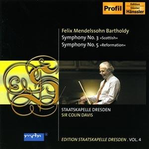 "(Rolling Stone) SSKD Series 4 - Mendelssohn: number three, ""Scotland"" V ""Reformation"" Symphony CD"