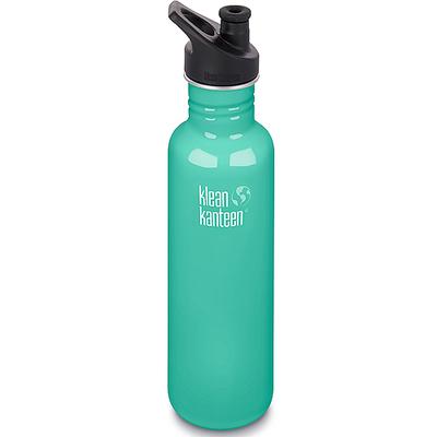 (Klean Kanteen)American Klean Kanteen Stainless Steel Cold Water Bottle 800ml-Haibo Green