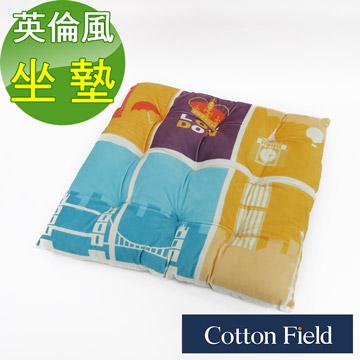 (Cotton Field) Cotton field [England style] Shu soft velvet bread printing cushion - London Bridge