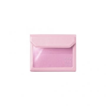 [5356 FLATTY] KING JIM pink versatile pouch (Card size)