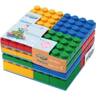(DELSUN)UNiPLAY Antibacterial Soft Building Blocks – Soft Building Blocks 124