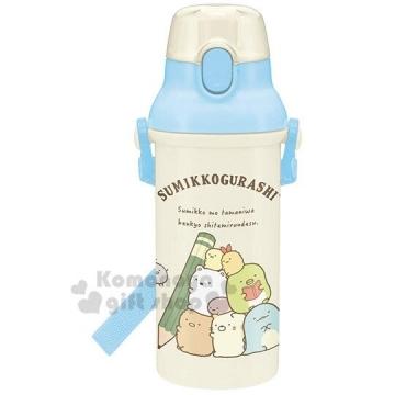"[Chapel] bio-corner-day drinking straight water bottle ""m Blue"" 480ml. Water bottle. Children Bottle"