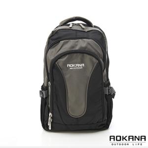 [TAITRA] AOKANA took Kana Lightweight waterproof computer bag (Black, green) 68-025