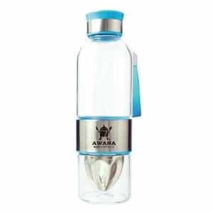 AWANA stainless steel juice glass bottle 550ml (blue)