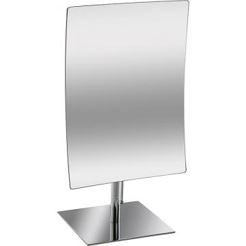 VERSA 簡約方形高腳桌鏡(銀)