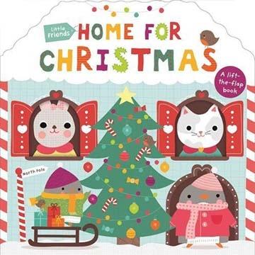 (Priddy Books UK)Little Friends:Home For Christmas 一起過聖誕節 硬頁翻翻操作書(英國版)(外文書)