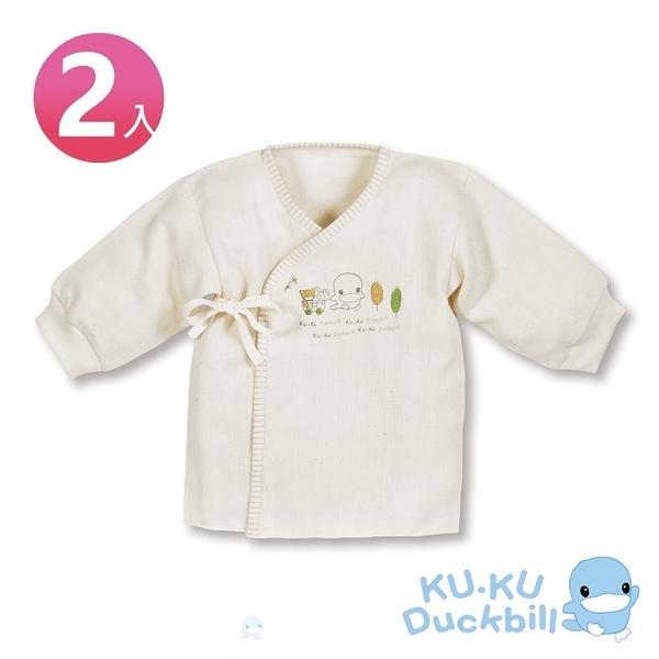 (ku.ku)Cool 咕 duck organic ? ? gauze belly clothes 2 into (3-6 months apply)