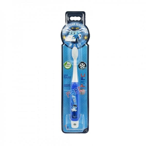 FAFC Robocar Poli Hook Kids Toothbrush