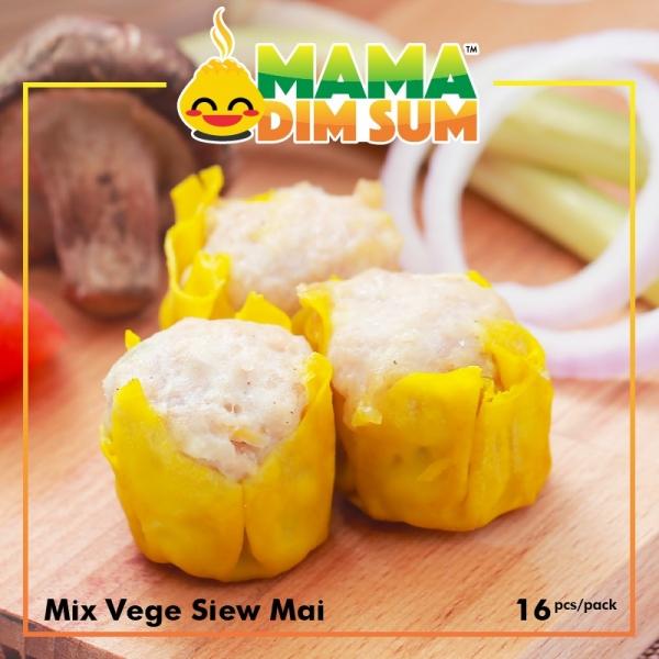 (D039) Mix Vegetable Siew Mai (16pcs/pack)