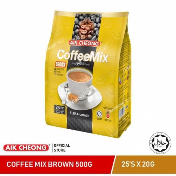 AIK CHEONG Coffee Mix 3in1 500g (20g x 25 sachets) - Brown