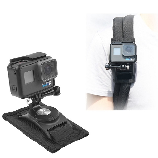 Vice factory backpack fixing clip GOPRO / Mijia / Little Ant / Mountain Dog SJ Series Green Applicable